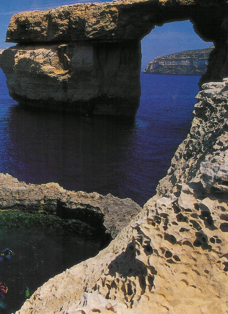 Gozo Diving - Window and Blue Hole