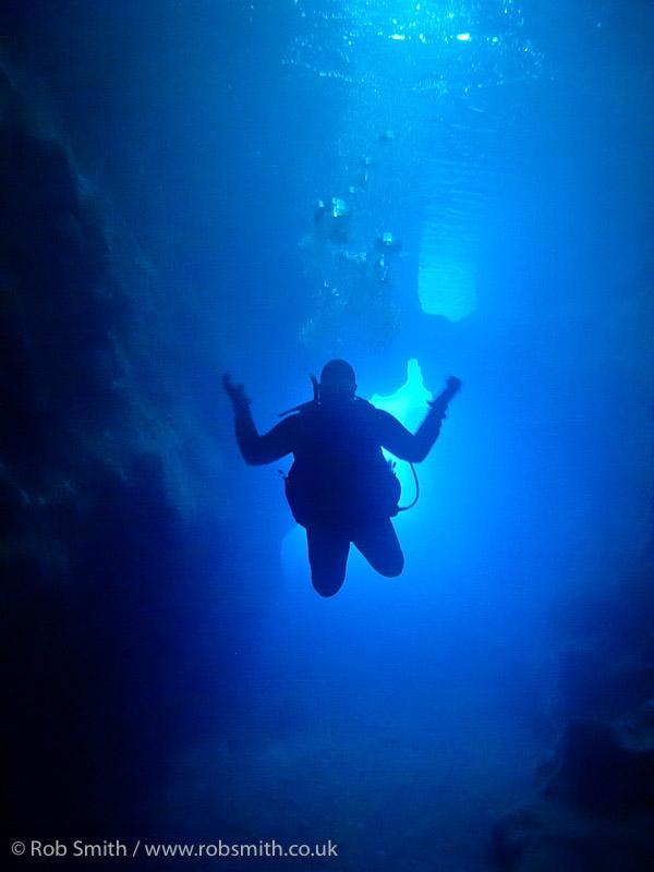 check dive xlendi tunnel northern end