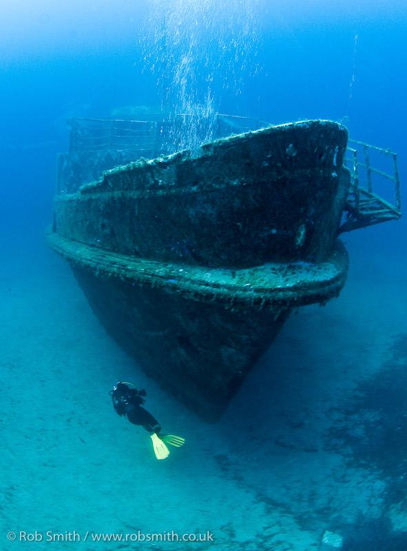 diver mv karwela one year after sinking