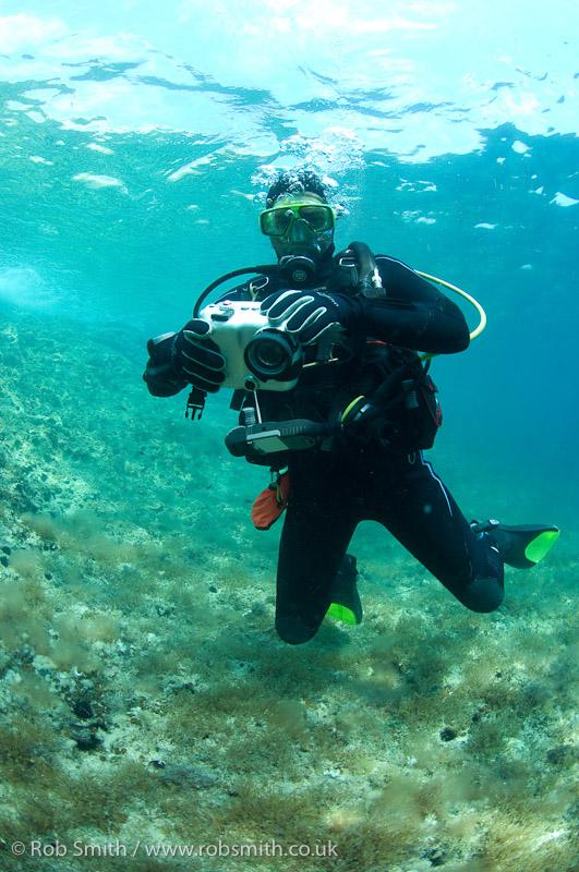 Divermaster shooting video