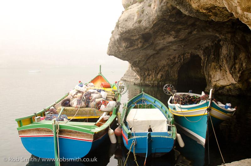 three fishing boats xlendi