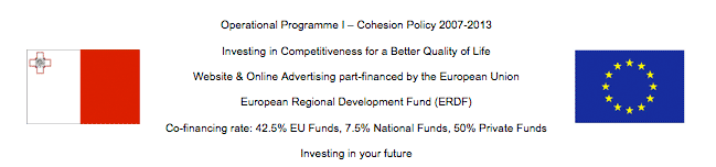 Website & Online Advertising part-financed by the European Union European Regional Development Fund (ERDF)
