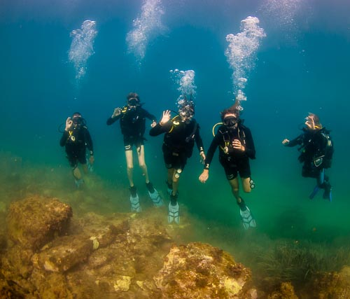 Diving Courses - PADI Open Water Course in Xlendi