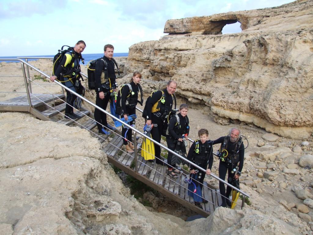 Tauchen Gozo Gruppen