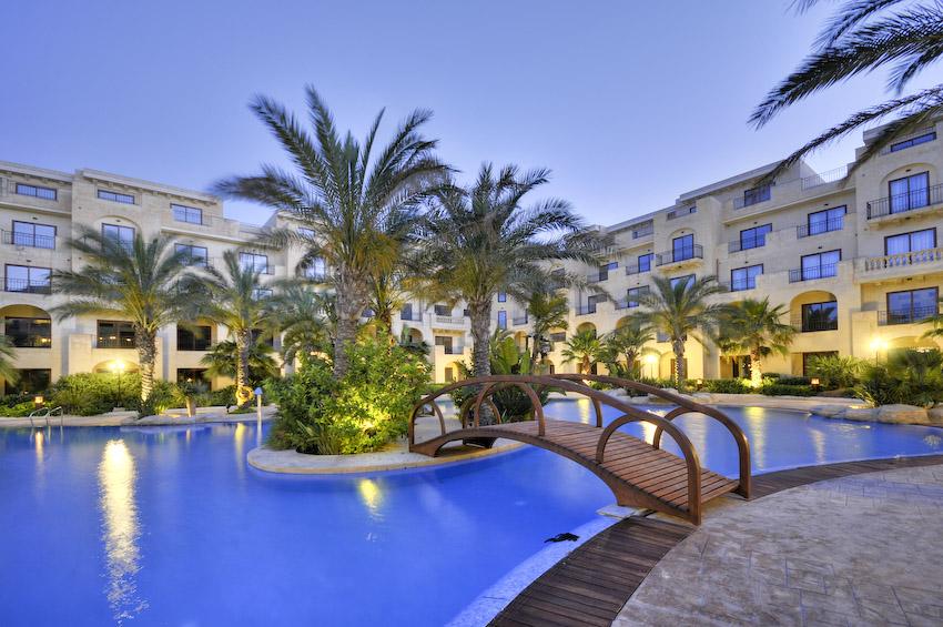 hôtel de luxe malte