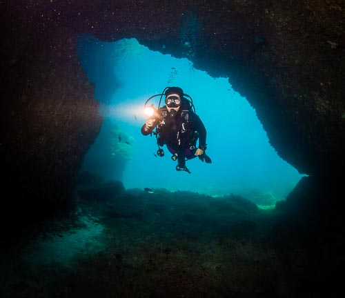 Gozo Diving - Comino Caves